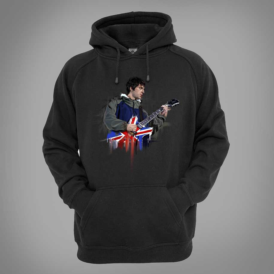 Noel Gallagher Oil Painting Hoodie