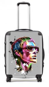 Stand out from the crowd, wherever you are in the world with this Ian Brown Psychedelic lightweight hardwearing suitcase. These cases are protected with a strong polycarbonate outer for additional strength and a high gloss finish.