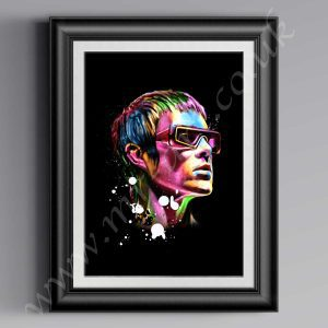 This exclusive Ian Brown Psychedelic printhas originally been drawn by artist Mark Reynolds. Available in a range of different sizes.