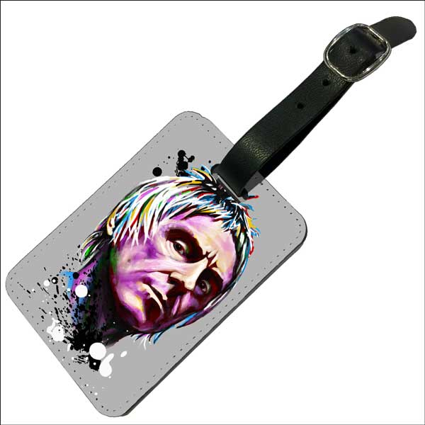 Paul Weller Psychedelic- Luggage Tag