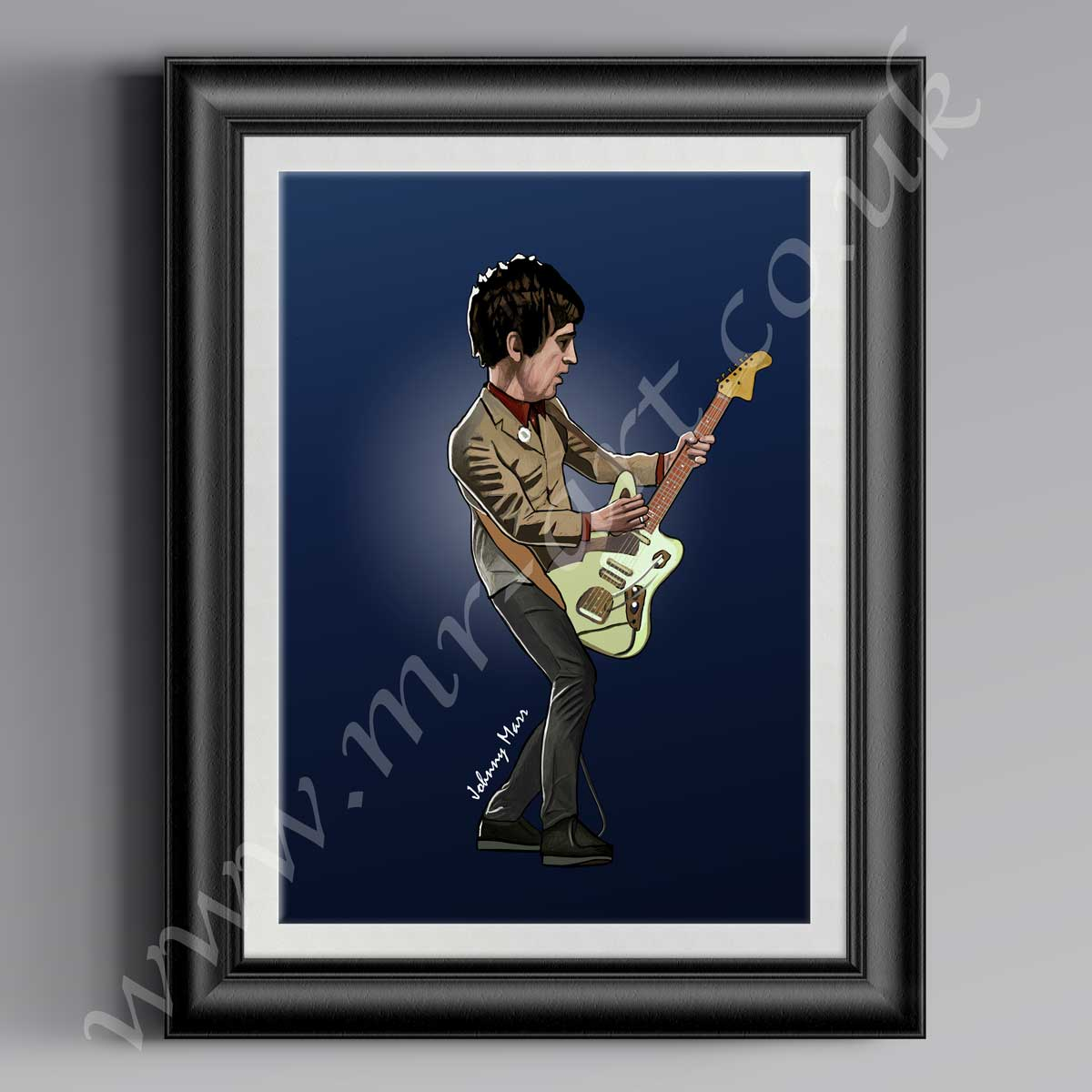 Johnny Marr Cartoon