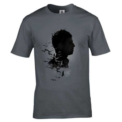Noel Gallagher's High Flying Birds T-Shirt featuring an original drawing by Mark Reynolds. Available in a wide range of colours and sizes.