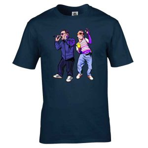 This Happy Mondays T-Shirt has been drawn by Mark Reynolds. It is available to purchase in a wide range of colours and sizes.