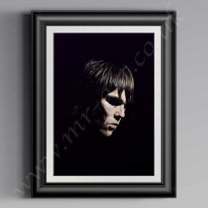 This exclusive Ian Brown Shadow Of A Saint printhas originally been drawn by artist Mark Reynolds. It is available in size A3, A2 and A1.This exclusive Ian Brown Shadow Of A Saint printhas originally been drawn by artist Mark Reynolds. It is available in size A3, A2 and A1.