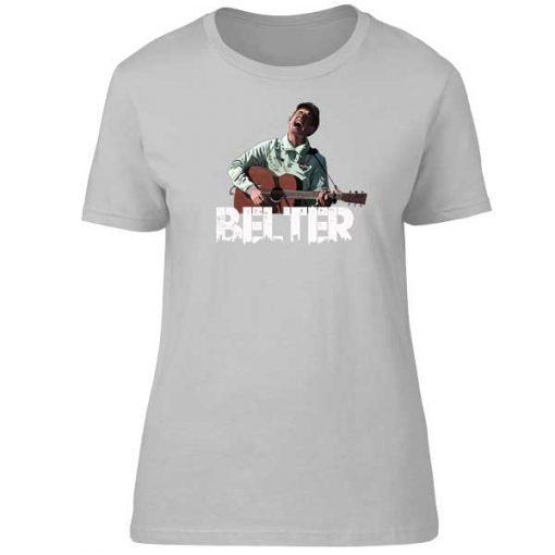 This Gerry Cinnamon cartoon T-Shirt has been drawn by Mark Reynolds. It features Gerry Cinnamon wearing an Adidas Special jacket and playing his guitar. It is available in a wide range of colours and sizes.